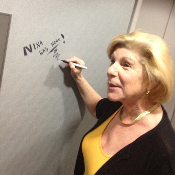 NPR Legal Affairs Correspondent Nina Totenberg makes her mark.