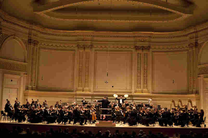 The Dresden Staatskapelle, founded in 1548, dedicated this Carnegie Hall concert to the memory of their late conductor laureate, Sir Colin Davis, who passed away on April 14.
