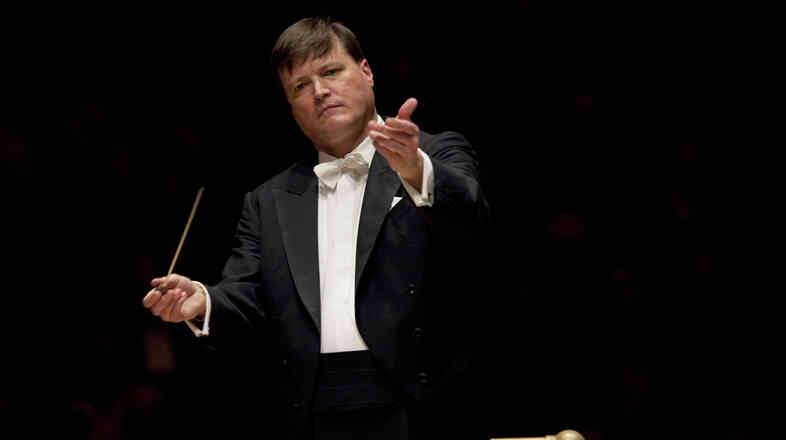 The Dresden Staatskapelle's principal conductor, Christian Thielemann, asserts that Anton Bruckner's music, in its long-winding search for beauty, is the perfect antidote for modern life. He and the or