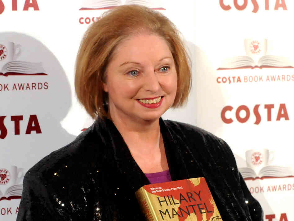Hilary Mantel attends the Costa Book of the Year awards in London, England.