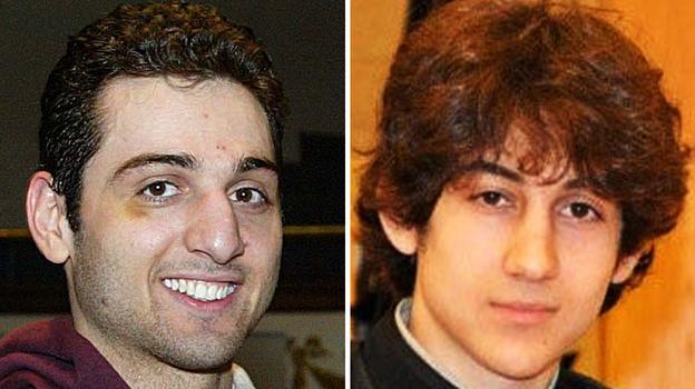 This combination of undated photos shows Tamerlan Tsarnaev, 26, left, and Dzhokhar Tsarnaev, 19. (AP)
