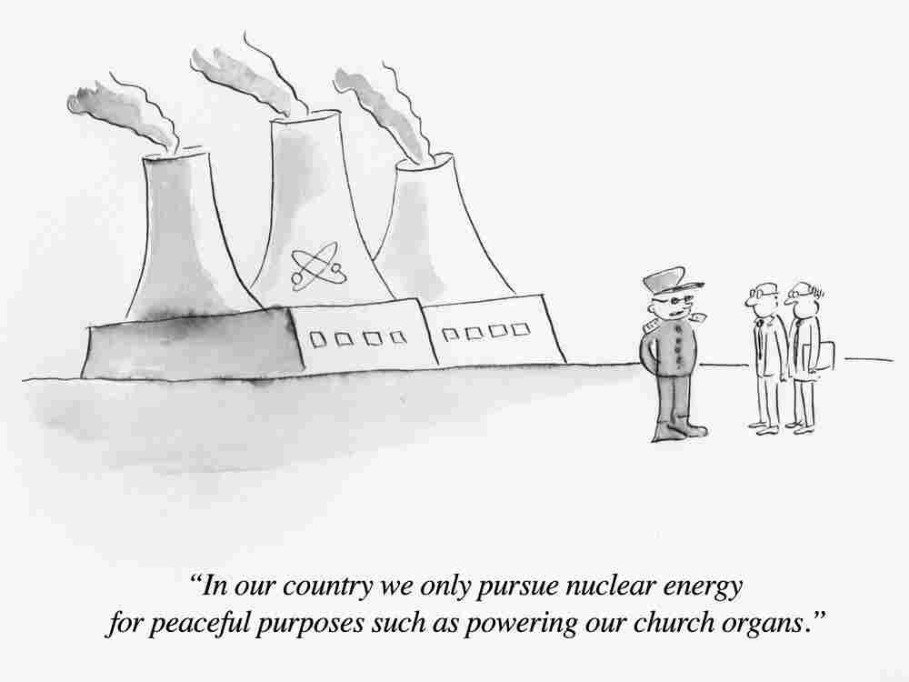 Cartoon by Pablo Helguera.