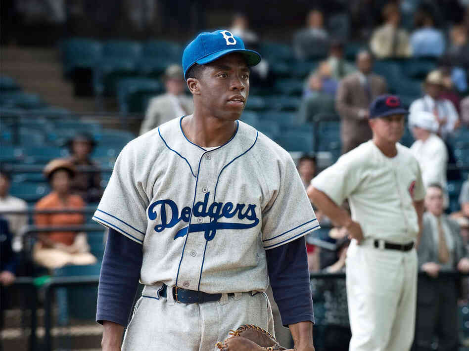 42, the biopic about Jackie Robinson, won the box office last weekend, earning $27 million.