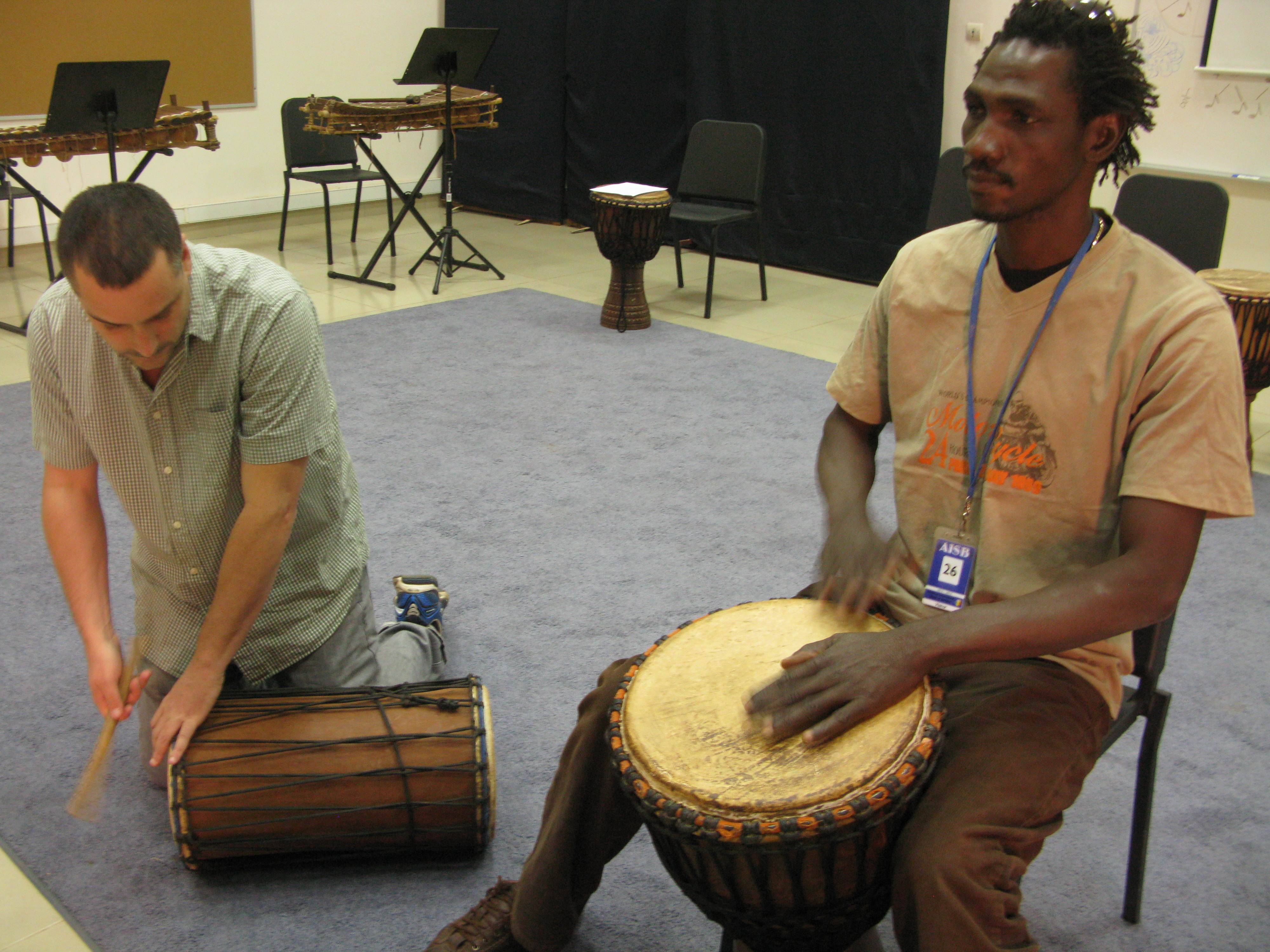 An American In Mali, Teaching The Country's Sounds