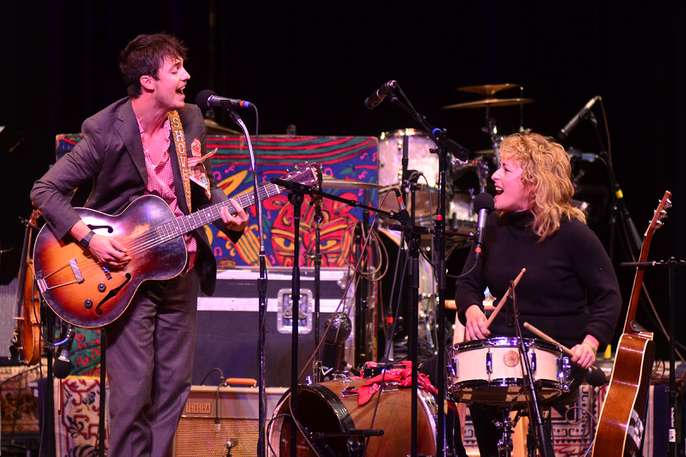 Shovels and Rope performs live on Mountain Stage.