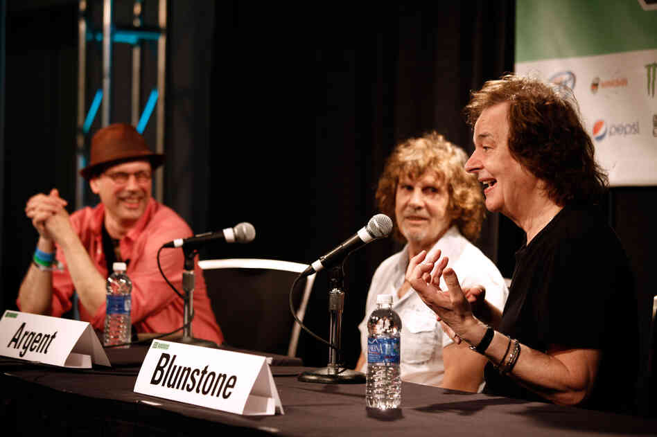 Bob Boilen, host of NPR Music's All Songs Considered, interviews Rod Argent and Colin Blunstone of The Zombies at SXSW.