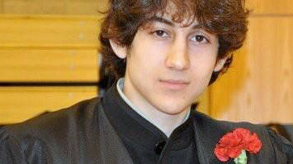 Dzhokhar Tsarnaev, suspected of carrying out the bombing attack on the Boston Marathon, was taken prisoner Friday. Here, he poses for a picture after graduating from Cambridge Rindge and Latin High School. (AP)
