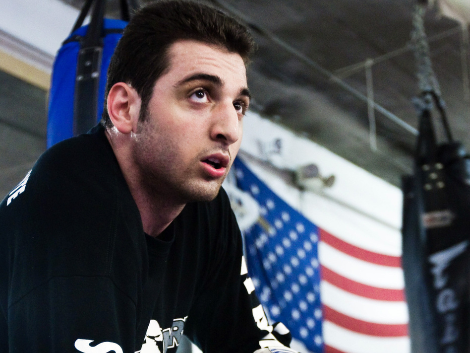 Tamerlan Tsarnaev practices boxing at the Wai Kru Mixed Martial Arts center in April 2009 in Boston. The native Chechnyan was described as a heavyweight fighter at the gym, and allegedly hoped to fight for the U.S. (Barcroft Media via Landov)