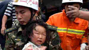 Strong Quake In China Kills Dozens, Injures Thousands