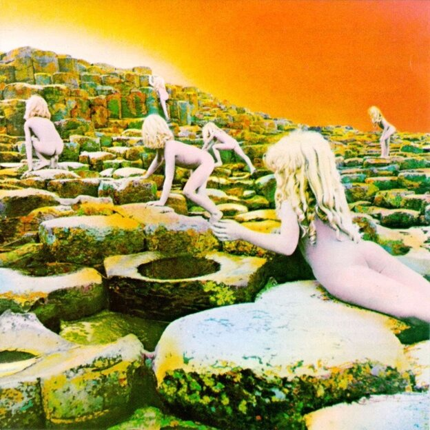 Houses of the Holy album cover