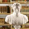 A bust of Dante Alighieri at the Duchess Anna Amalia Library.