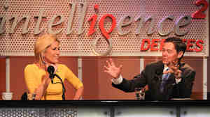 """Laura Ingraham and Ralph Reed argue against the motion """"The GOP Must Seize the Center or Die"""" in an Intelligence Squared U.S. debate."""