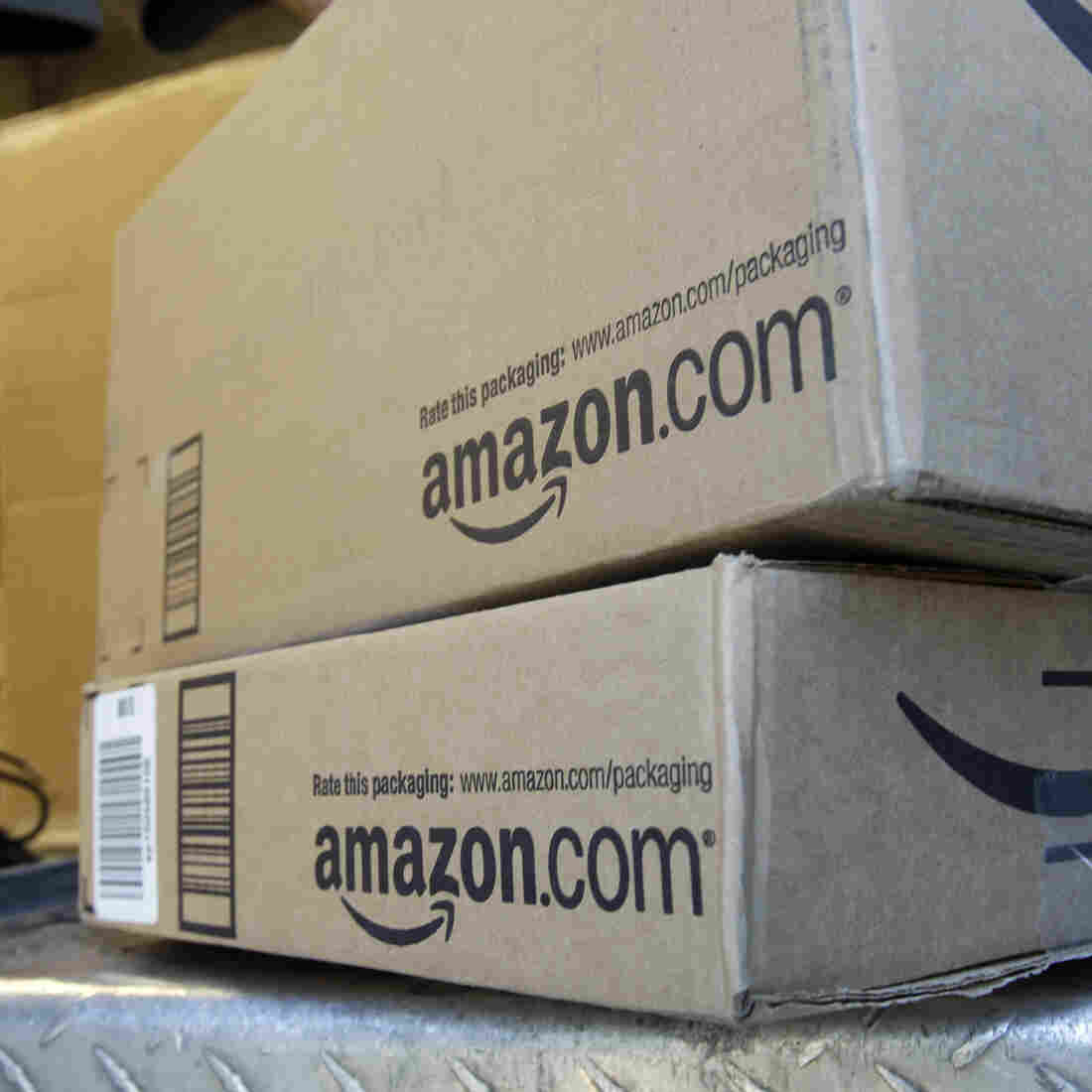 Why Amazon Supports An Online Sales-Tax Bill