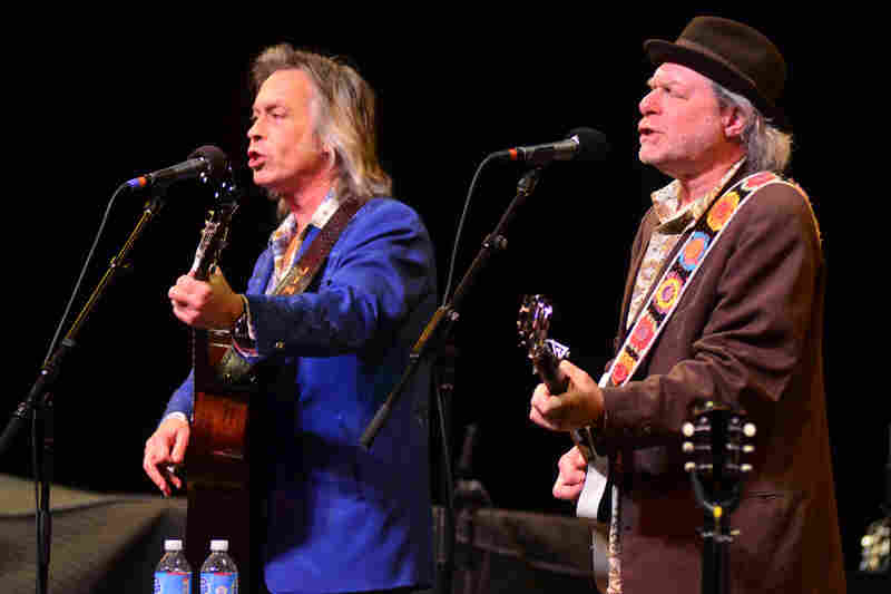 Buddy Miller and Jim Lauderdale performing live on Mountain Stage.