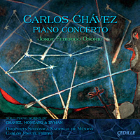 Piano music of Carlos Chávez.