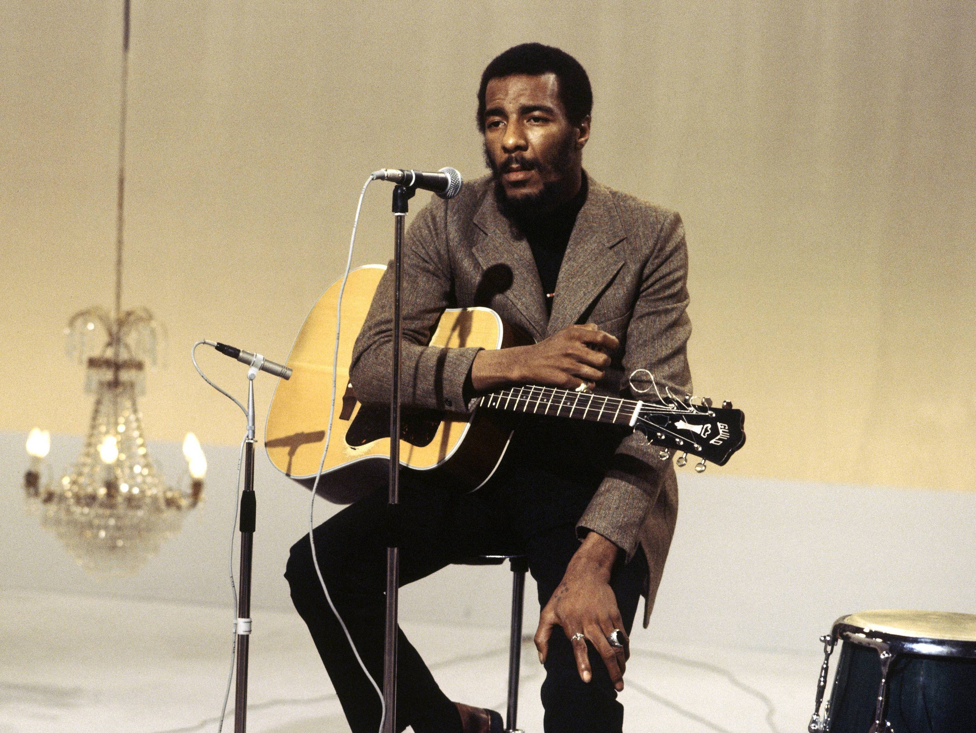 Richie Havens, A Folk Singer Of 'Freedom' : The Record : NPR
