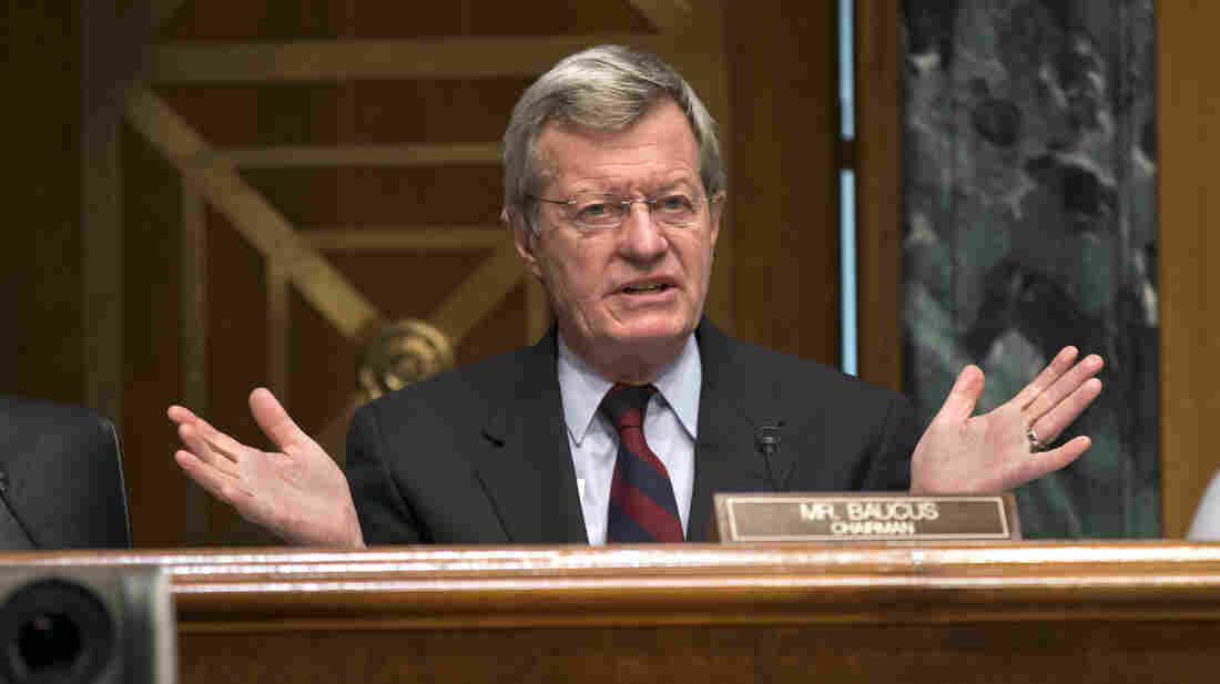 Senate Finance Committee Chairman Max Baucus, a Montana Democrat, will not seek a seventh term in 2014.