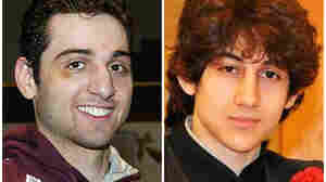 This combination of undated photos shows Tamerlan Tsarnaev, 26, left, and Dzhokhar Tsarnaev, 19. The FBI says the two brothers and suspects in the Boston Marathon bombing.