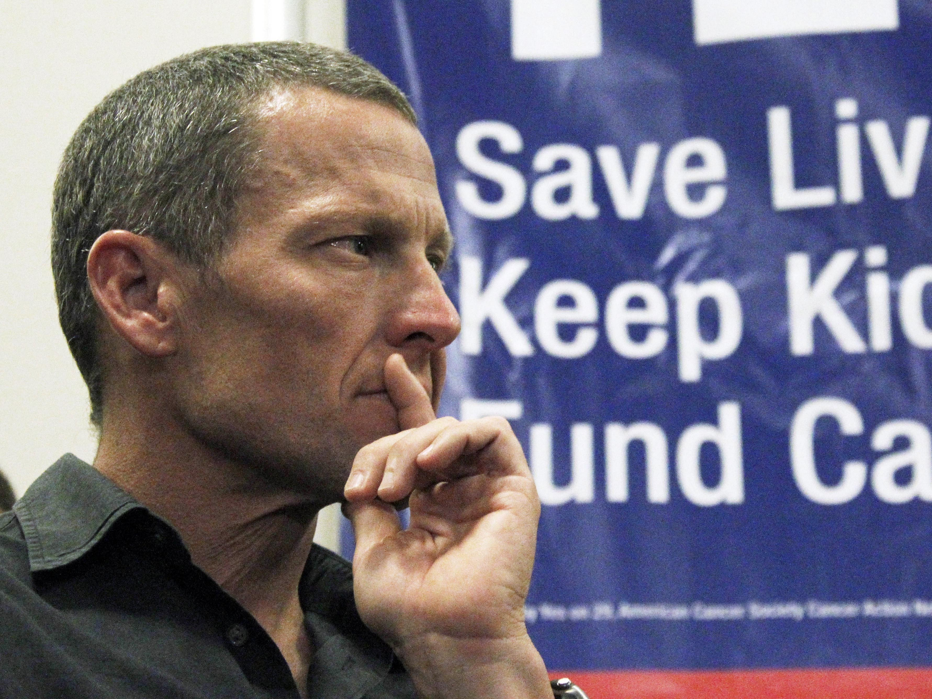 Armstrong 'Unjustly Enriched' Self, Justice Department Says