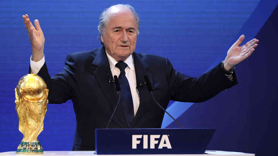 Even before FIFA President Joseph Blatter announced the 2018 and 2022 World Cup host countries in December, 2010, accusations of corruption were rampant. A panel meant to restore FIFA's image lost a member Monday, as Alexandra Wrage said it was accomplishing nothing.