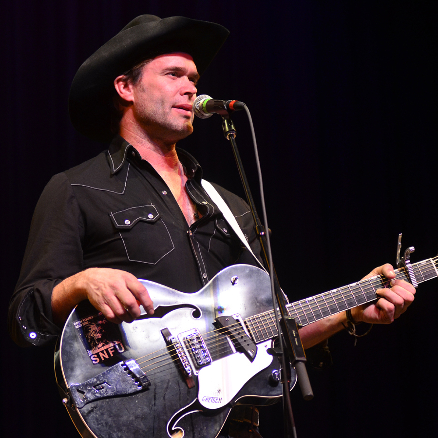 Corb Lund performs live on Mountain Stage.
