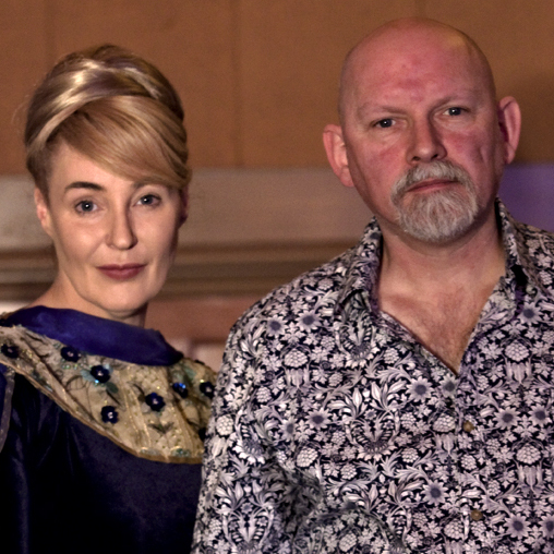 Dead Can Dance's Lisa Gerrad and Brendan Perry.
