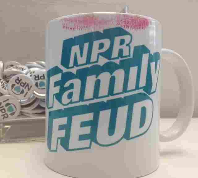 Mug Shot: This relic from an NPR staff event is just one of the fun cups found around our Washington, D.C., headquarters.