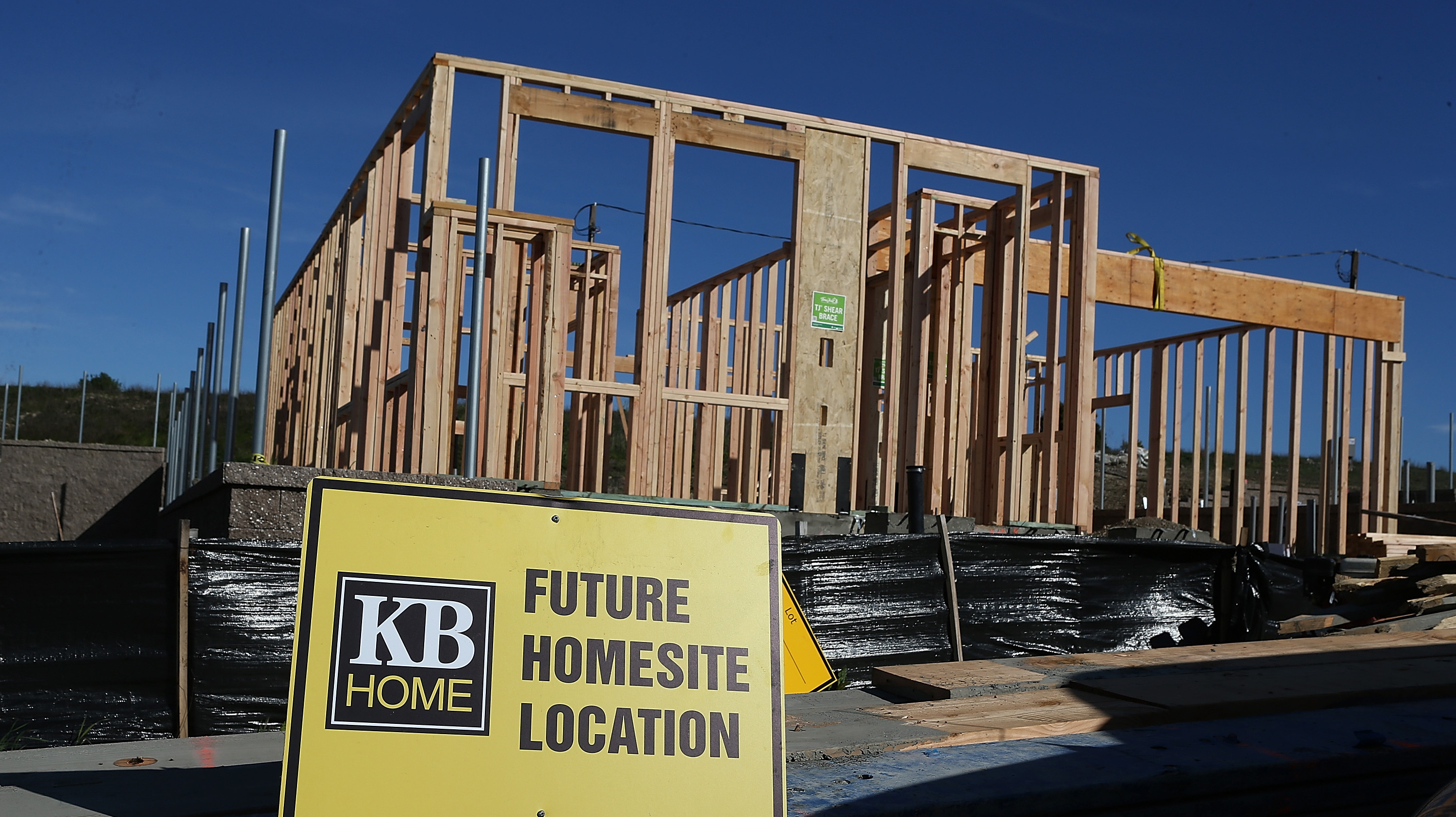 Sales Of New Homes Rose Last Month