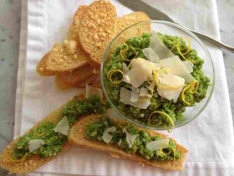 Peas And Parmesan Dip