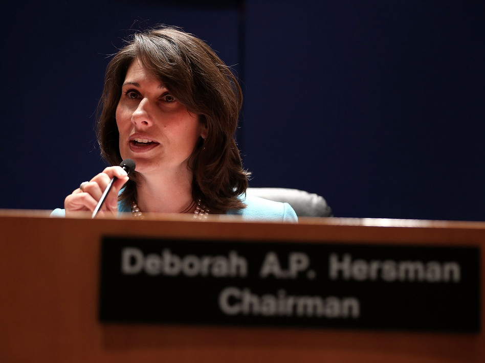 NTSB Chairwoman Deborah Hersman during Tuesday's hearing.