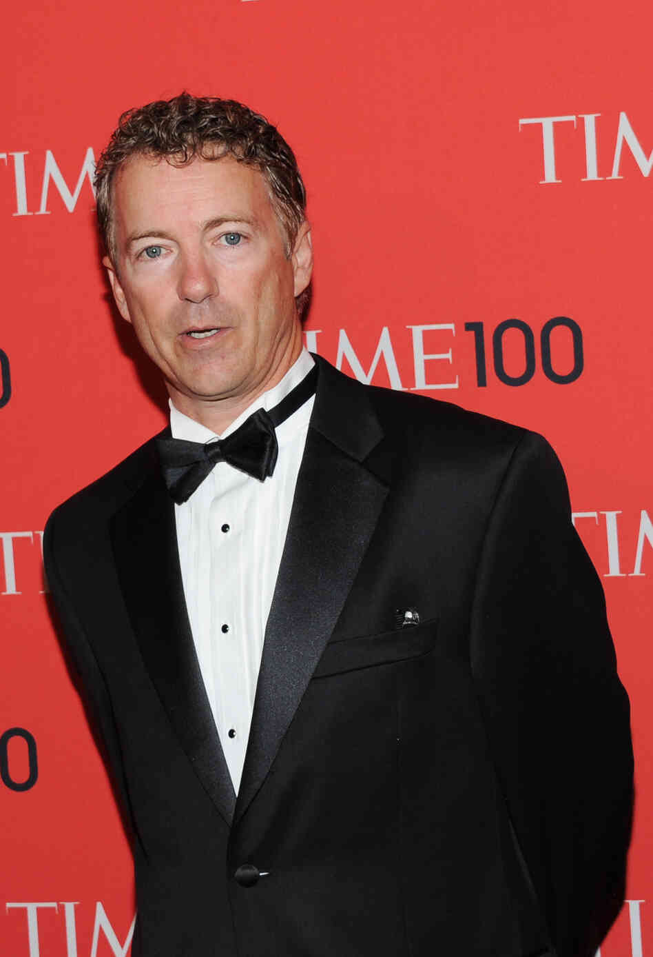 "Sen. Rand Paul, R-Ky., attends a ceremony for Time's ""100 Most Influential People in the World"" in New York on Tuesday."