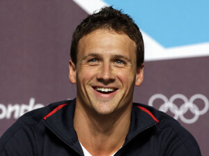 Ryan Lochte, seen here during the London Olympics in 2012, has a new reality show on E!.