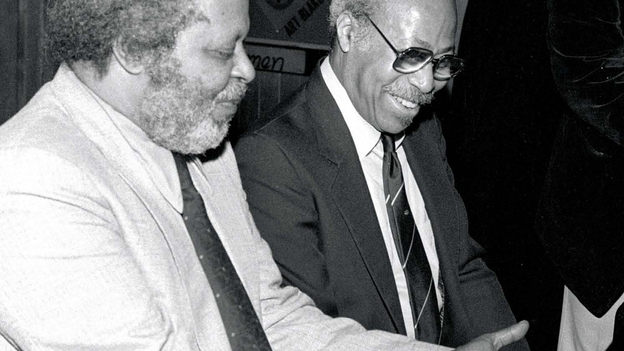 Jaki Byard (left) and Tommy Flanagan. (Resonance Records)