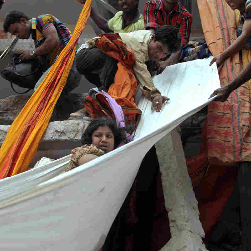Dozens Killed In Collapse Of Bangladesh Garment Complex
