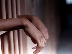 About 1 in 8 black men of working age (13 percent) are in state prisons or jails. The national average is 6.7 percent.