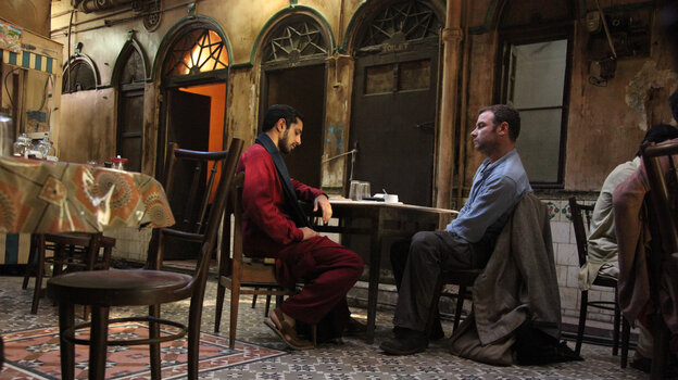 A probing conversation between Changez (Riz Ahmed), a young Pakistani activist, and Bobby (Liev Schreiber), an American agent, forms the core of The Reluctant Fundamentalist.