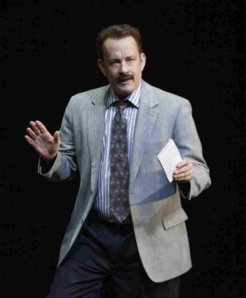 Tom Hanks is one to watch at Tuesday's Tony nominations; he's making his Broadway debut in Norah Ephron's final play, Lucky Guy.