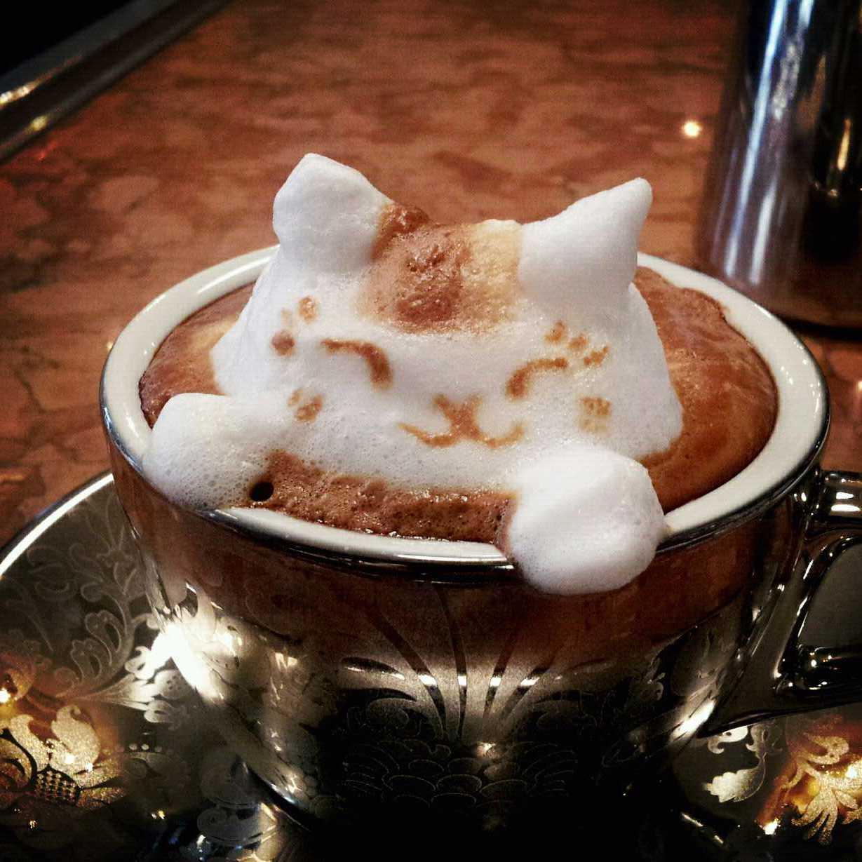 Masterpiece In A Mug Japanese Latte Art Will Perk You Up The Salt Npr