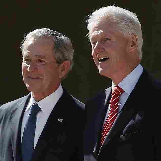 At Bush Library Dedication, Bipartisan Praise
