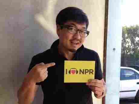 Filmmaker Benson Lee poses for a photo.