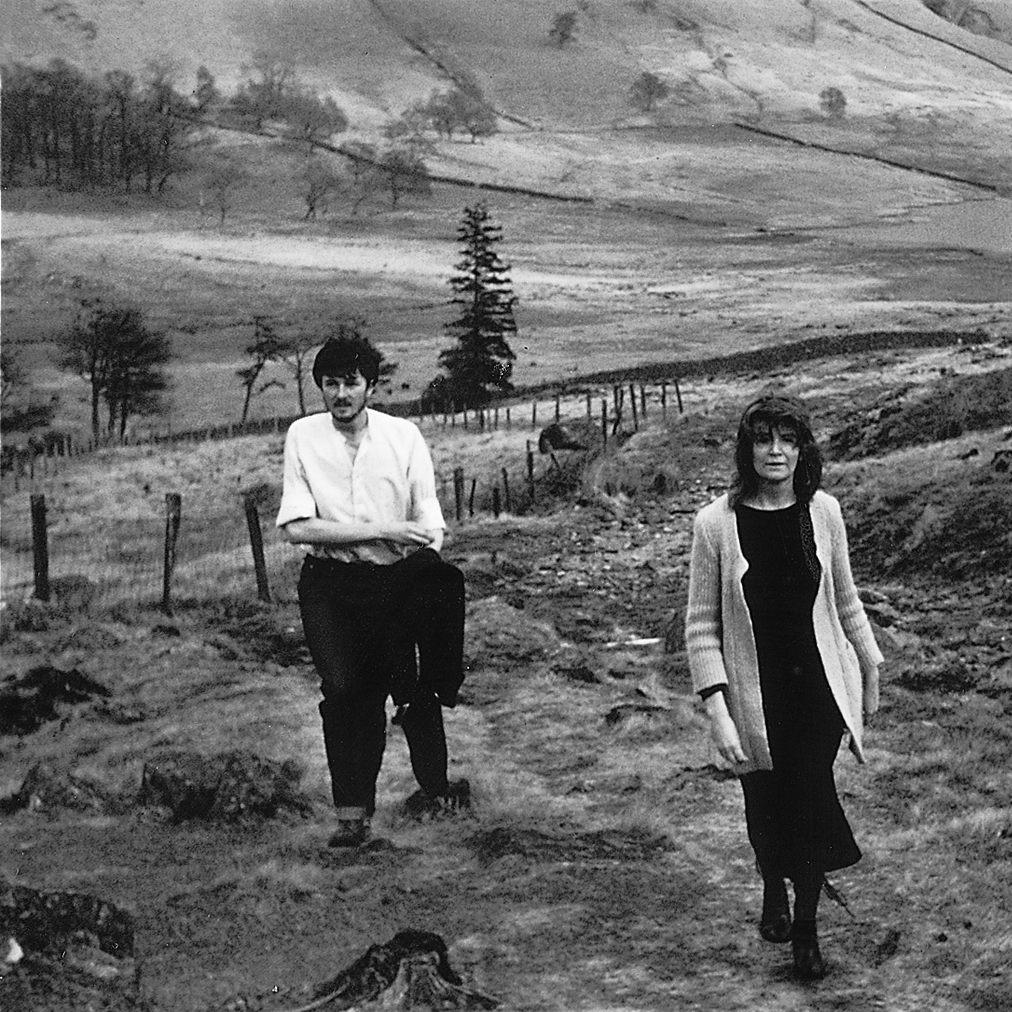 Edna O'Brien and her son Sasha walk in the Lake District in England in the late 1970s.