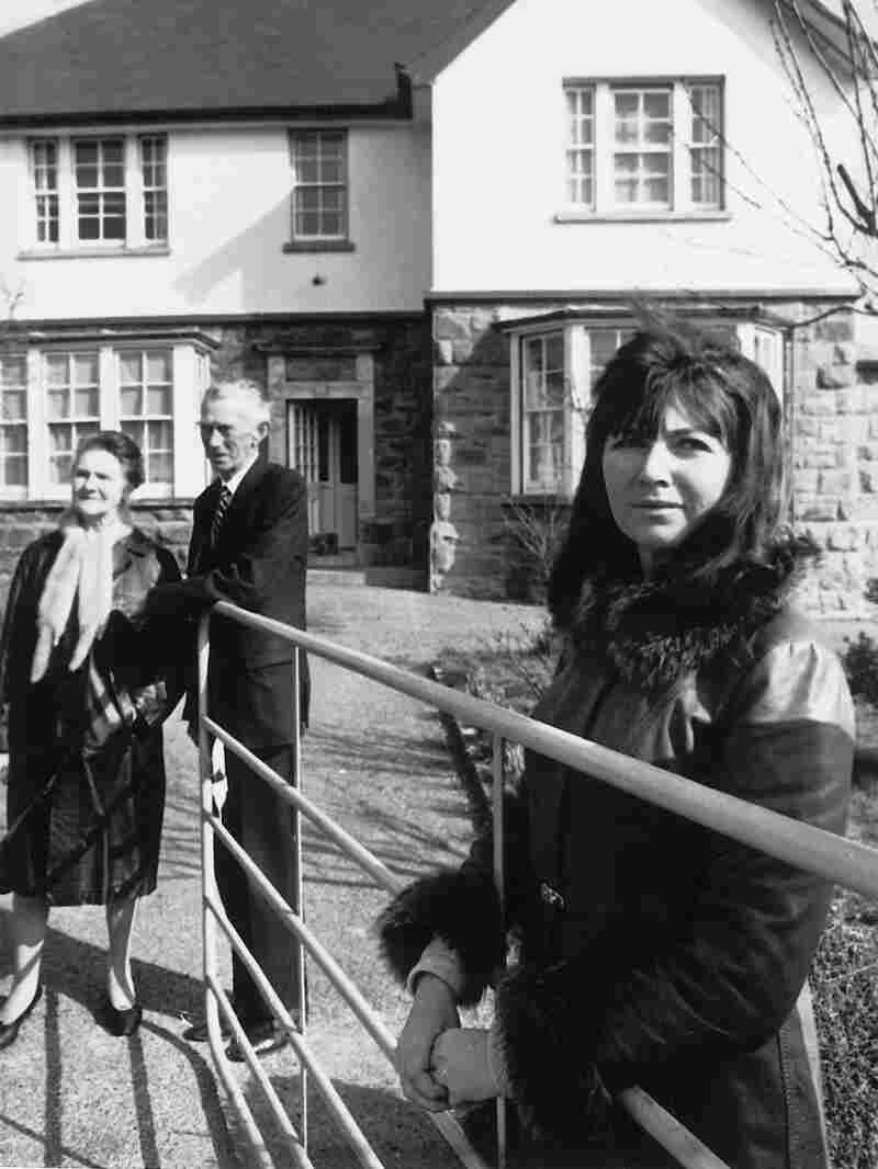 O'Brien, pictured here with her parents, Lena and Michael, was born in Drewsboro, County Clare.