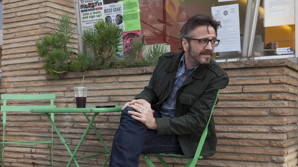 Spinning off of his popular podcast, Marc Maron's new show, Maron, on the IFC Channel, is loosely based on his own life. (IFC Channel)