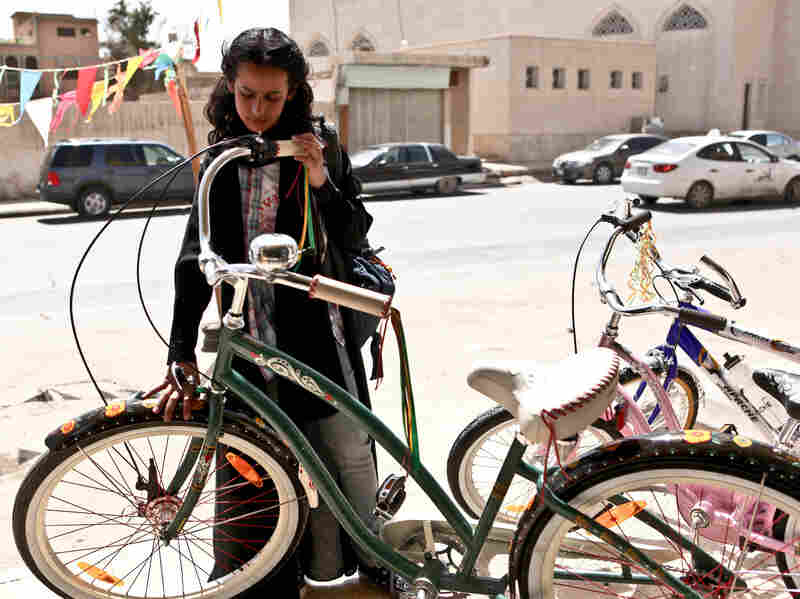 A scene from Wadjda, the first film made in Saudi Arabia by a female director. The film has been prominently featured at a number of international film festivals, including the Tribeca Film Festival in New York.