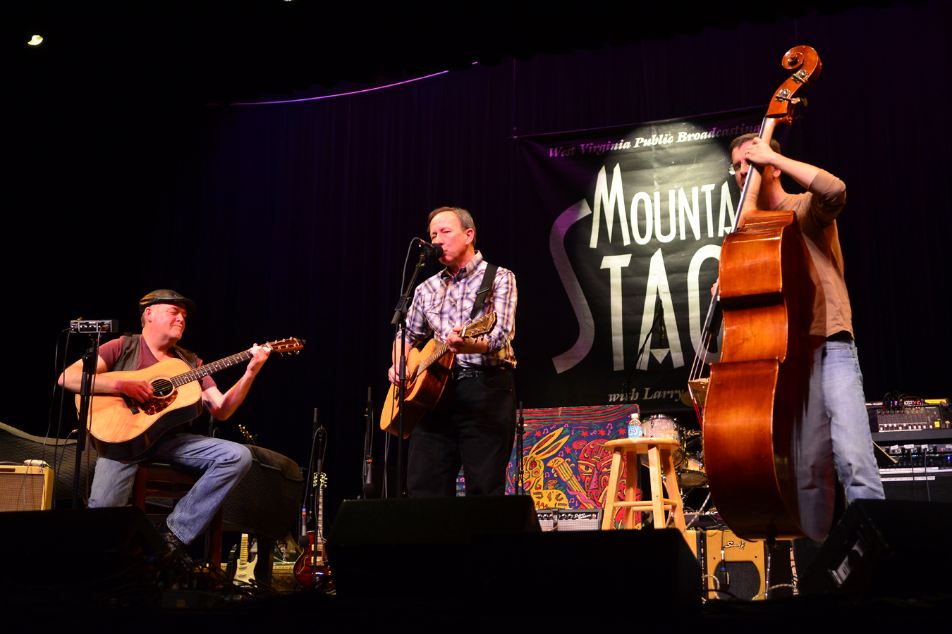 Blue Yonder performs live on Mountain Stage.