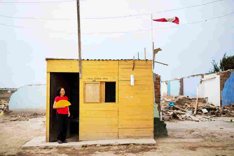 Santos Isabel Sedano Sotelo, born in 1954, has lived in El Ayllu her entire life.