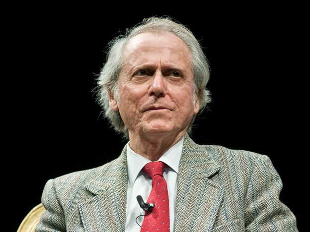 Don DeLillo at the 2012 Carl Sandburg Literary Awards dinner in Chicago.