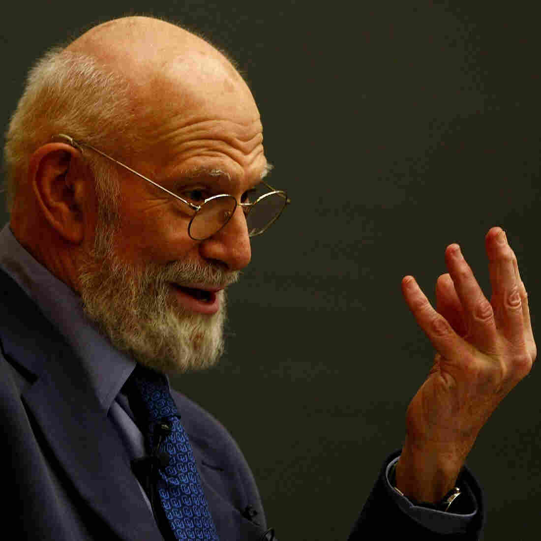 Oliver Sacks in 2009 at Columbia University