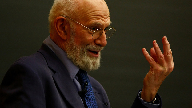 Oliver Sacks in 2009 at Columbia University (Getty Images)