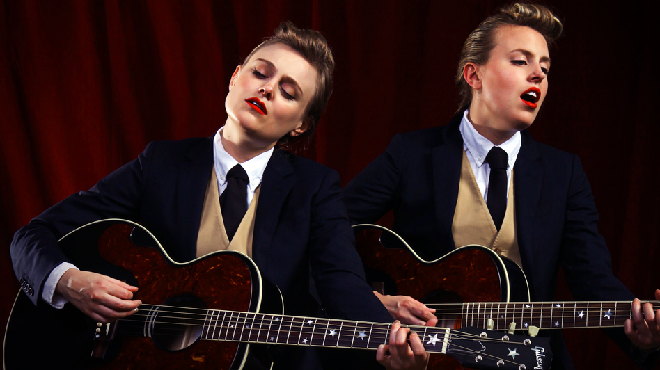 The Chapin Sisters' new tribute album is titled A Date With the Everly Brothers. (Courtesy of the artist)
